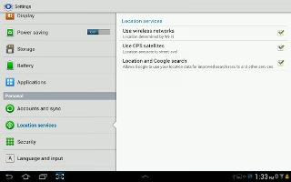 How To Use Location Services On Samsung Galaxy Tab 2