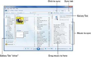 How To Sync Samsung Galaxy Tab 2 With Windows Media Player