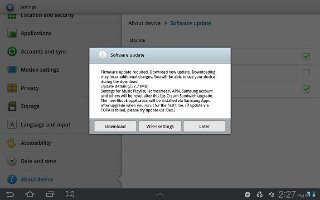 How To Customize Software Update On Samsung Galaxy Tab 2