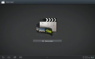 How To Use Video Maker On Samsung Galaxy Tab 2