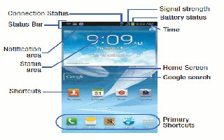 How To Use Home Screen On Samsung Galaxy Note 2