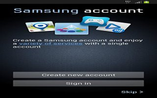 How To Use Samsung Account On Samsung Galaxy Note 2