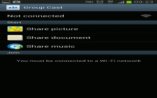 How To Use Group Cast On Samsung Galaxy Note 2