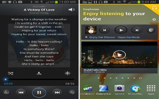 How To Use Music Player On Samsung Galaxy Note 2