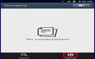 How To Search Message On Samsung Galaxy Note 2