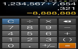 How To Use Calculator On Samsung Galaxy Note 2