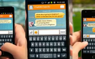 How To Use On ChatON On Samsung Galaxy Note 2