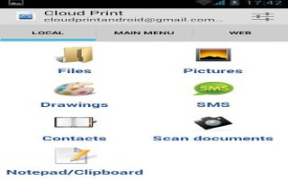 Cloud Print App For Samsung Galaxy S3