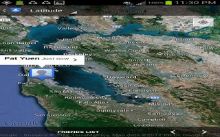 How To Use Latitude On Samsung Galaxy Note 2