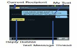 How To Use Message Threads On Samsung Galaxy Note 2