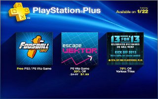 PSN's 13 For 2013 Sale Begins Today