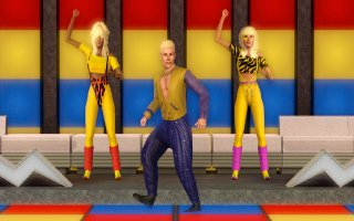 The Sims 3 game : 70s disco style