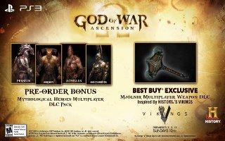 Buy God of War: Ascension At Best Buy And Get Mjölnir DLC