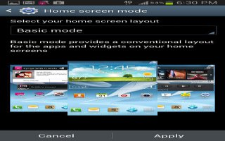 How To Use Home Screen Mode On Samsung Galaxy Note 2