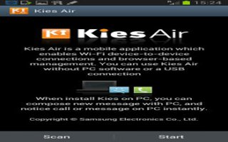 How To Connect Samsung Galaxy Note 2 To PC Via Kies Air