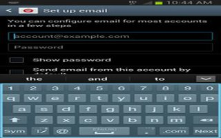 How To Add And Remove Account On Samsung Galaxy Note 2