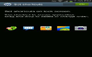 How To Customize Lock Screen Shortcuts On Samsung Galaxy Note 2