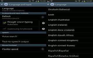 How To Use Language And Input Settings On Samsung Galaxy Note 2