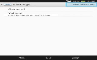 How To Use Email Accounts On Sony Xperia Z