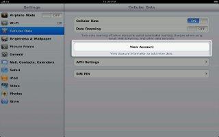 How To Use Cellular Data On iPad Mini