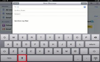 How To Dictate On iPad Mini