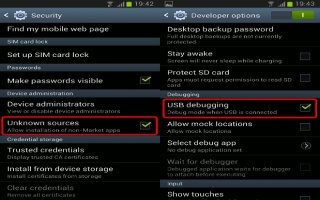How To Use Developer Options On Samsung Galaxy Note 2