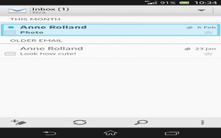 How To Use Email On Sony Xperia Z