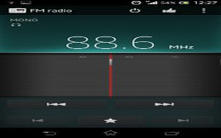 How To Customize FM Radio Settings On Sony Xperia Z