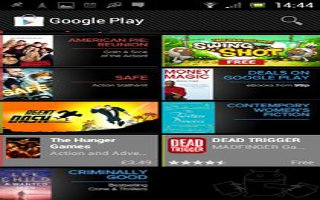 How To Use Google Play On Sony Xperia Z