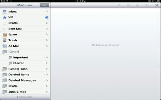 How To Organize Mail On iPad Mini