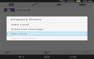 How To Transfer Contacts From Memory Card On Sony Xperia Z