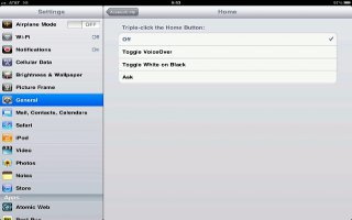 How To Use Triple-click Home On iPad Mini