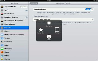 How To Use AssistiveTouch On iPad Mini