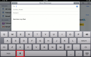 How To Dictate On iPad Mini