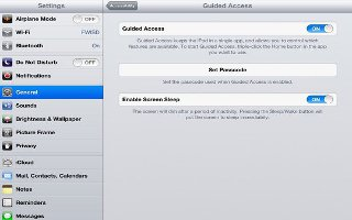 How To Use Guided Access On iPad Mini