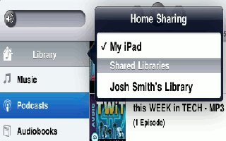How To Use Home Sharing Music On iPad Mini