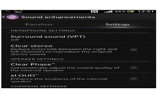How To Enhance Sound Output On Sony Xperia Z