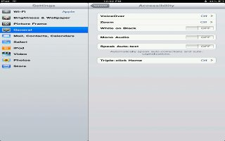 How To Use VoiceOver On iPad Mini