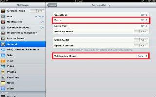 How To Zoom On iPad Mini