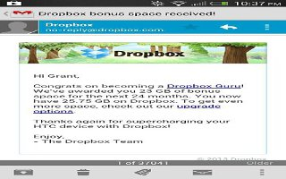 How To Use Dropbox On HTC One