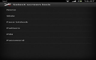 How To Customize Screen Lock On Sony Xperia Z