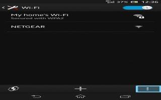 How To Use WiFi On Sony Xperia Z