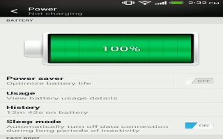 How To Improve Battery Life On HTC One