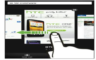 How To Browse Web On HTC One