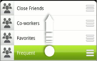 How To Use Contact Groups On HTC One
