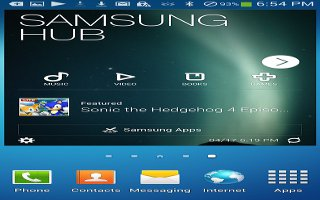 How To Use Samsung Hub On Samsung Galaxy S4