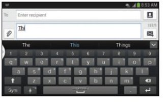 How To Use Predictive Text On Samsung Galaxy S4