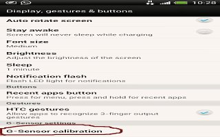 How To Customize Screen Settings On HTC One