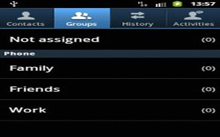 How To Use Groups On Samsung Galaxy S4