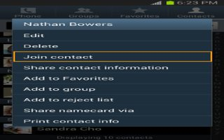 How To Join Contacts On Samsung Galaxy S4